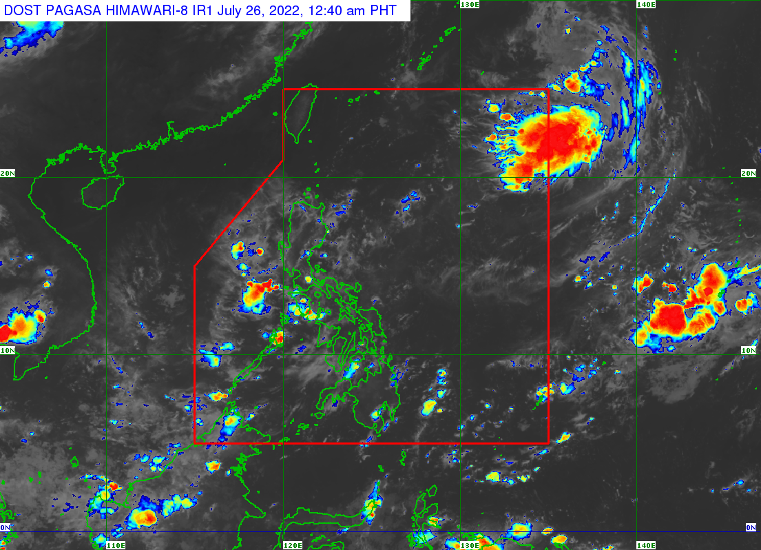 Image Satellite Courtesy of PAGASA